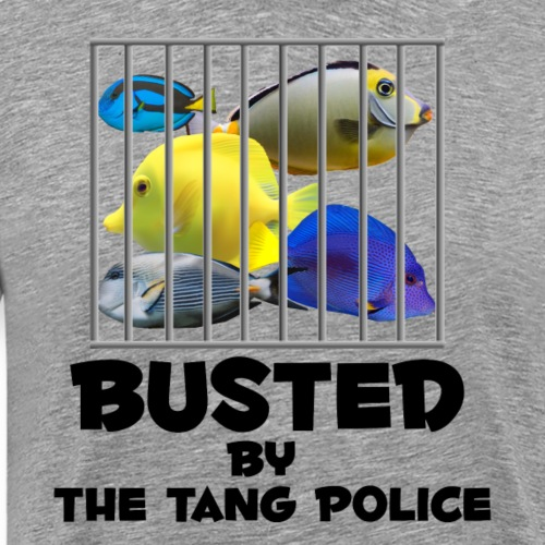 Busted by the Tang Police - Men's Premium T-Shirt