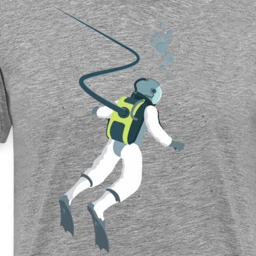 Deep Space Diver - Men's Premium T-Shirt