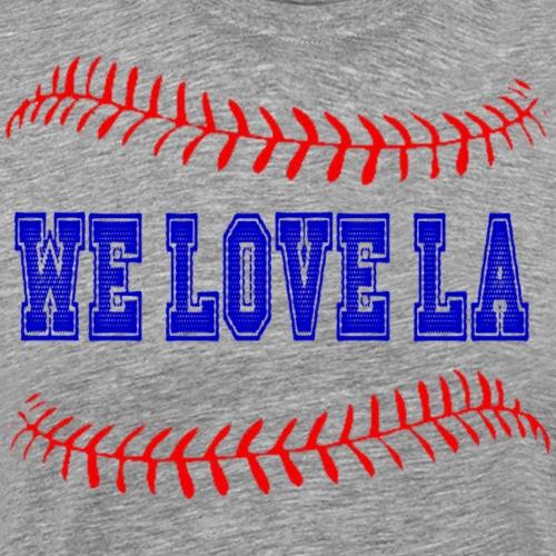 WE LOVE LA - Men's Premium T-Shirt