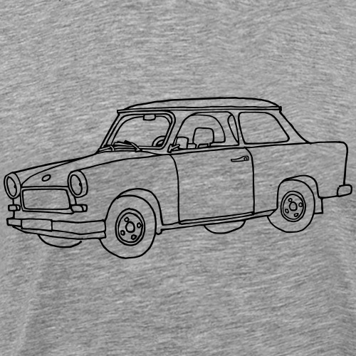 Car Trabant - Men's Premium T-Shirt