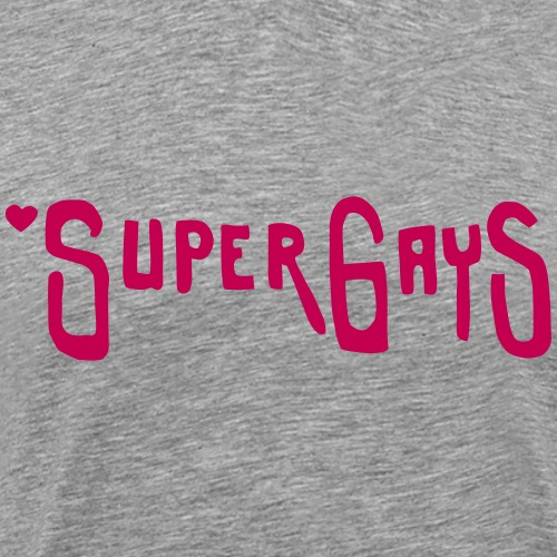 Super Gays - Men's Premium T-Shirt