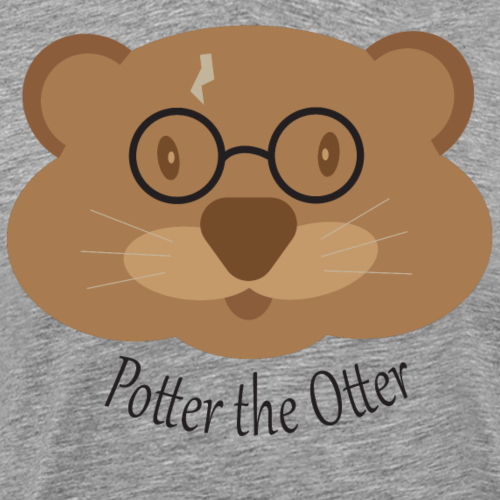 Potter the Otter - Men's Premium T-Shirt