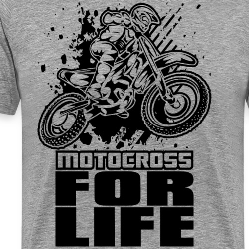 Motocross For Life Race - Men's Premium T-Shirt