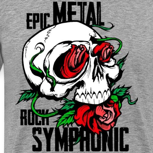 epic rock symphonic - Men's Premium T-Shirt