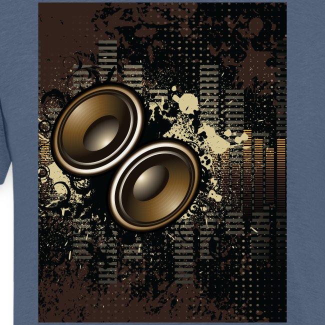 Funky Speakers Brown