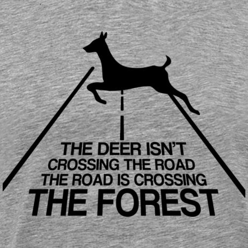 Deer's forest - Men's Premium T-Shirt