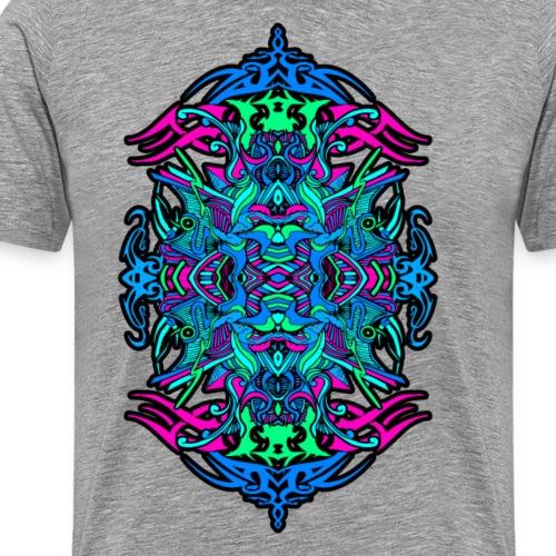 Eternal Voyage 4 - Neon Edition Men's T-Shirt - Men's Premium T-Shirt