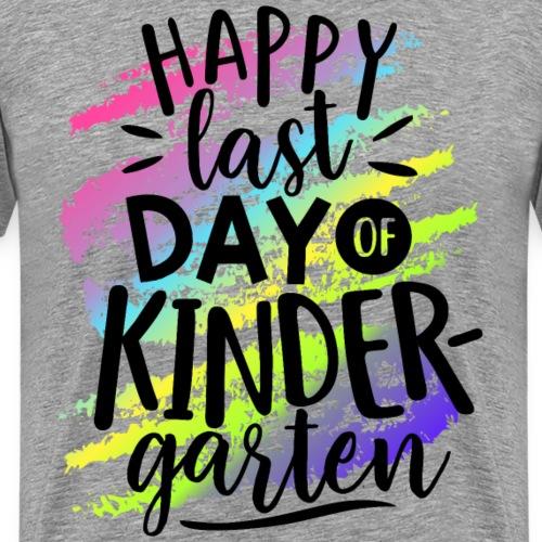 Happy Last Day of Kindergarten Teacher T-Shirt - Men's Premium T-Shirt