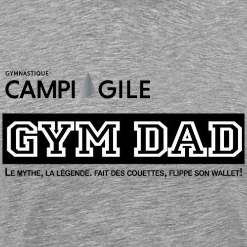 BOUTIQUE GYM DAD - Men's Premium T-Shirt