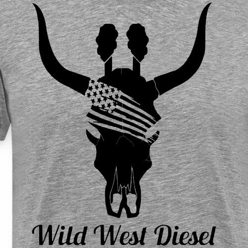 WWD Bull Skull - Men's Premium T-Shirt