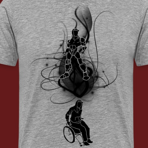 TransforMax (Black) - Men's Premium T-Shirt
