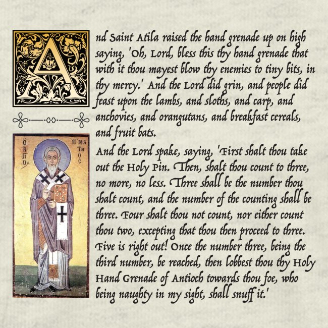 Holy Hand Grenade of Antioch