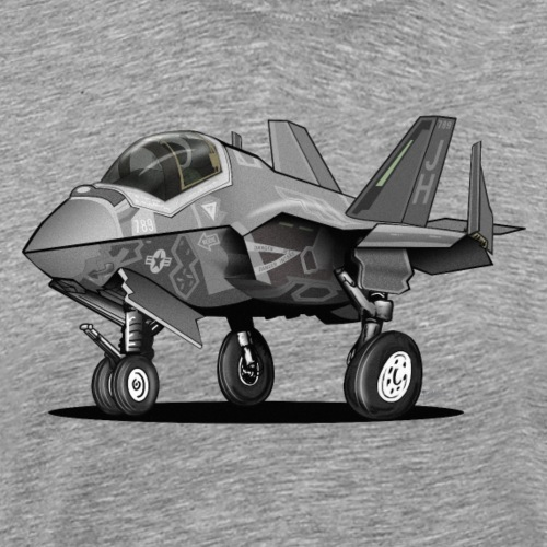 F-35C Lightning II Joint Strike Fighter Il Cartoon