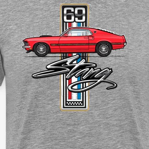 69 Red - Men's Premium T-Shirt