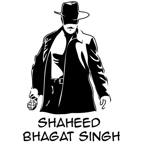 3XL & 4XL Bhagat Singh - Men's Premium T-Shirt