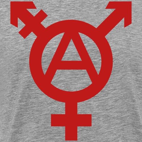 Tranarchy glitter - Men's Premium T-Shirt