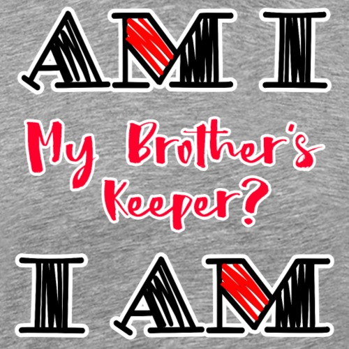 Am I - I Am - Men's Premium T-Shirt
