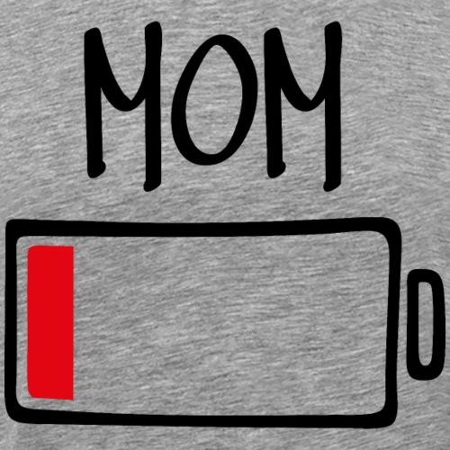 Out of Batteries - Mom - Men's Premium T-Shirt