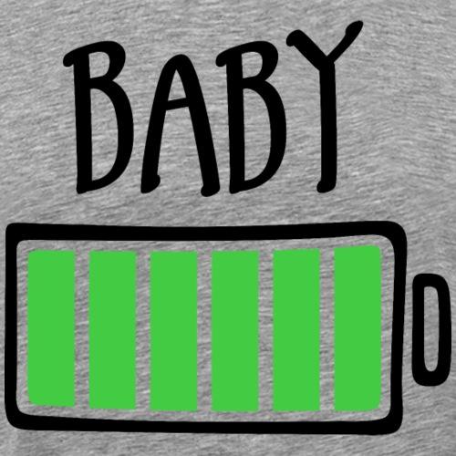 Out of Batteries - Baby - Men's Premium T-Shirt