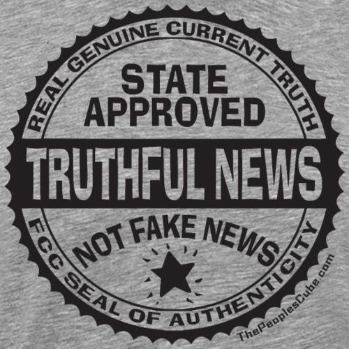 Truthful News FCC Seal - Men's Premium T-Shirt