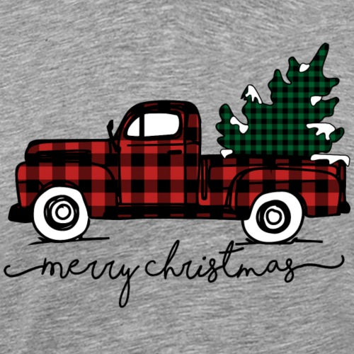 Old Vintage Truck Merry Christmas Shirt