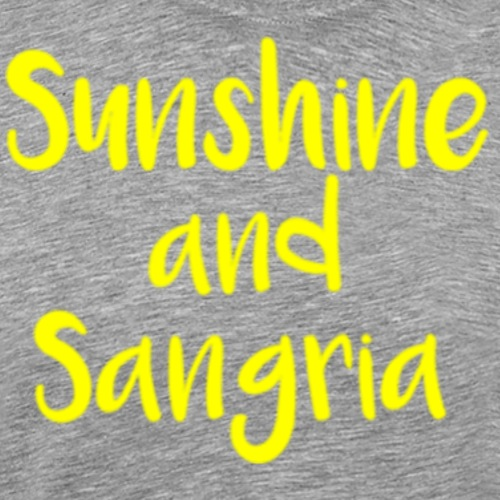 Sunshine and Sangria - Men's Premium T-Shirt