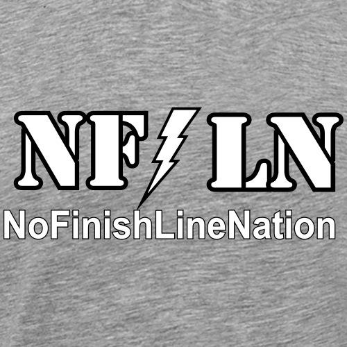 NFLN lightning logo - Men's Premium T-Shirt