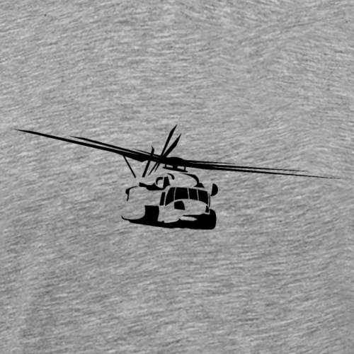 H-53 Sea Stallion Helicopter - Men's Premium T-Shirt