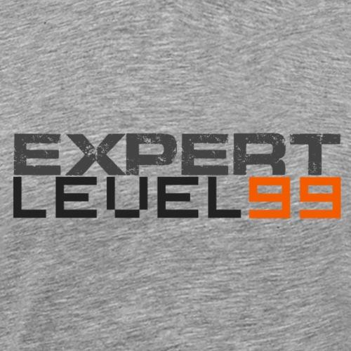 Expert Level 99 [Dark on Light] - Men's Premium T-Shirt