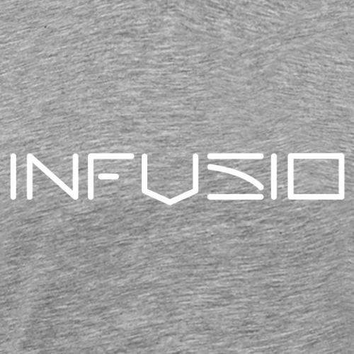 Infusio LogoWhite 4000 pix - Men's Premium T-Shirt