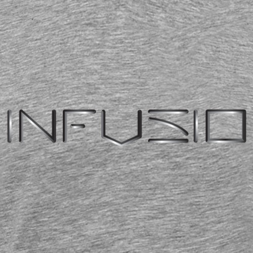 Infusio Logo 3D 4000 pix - Men's Premium T-Shirt