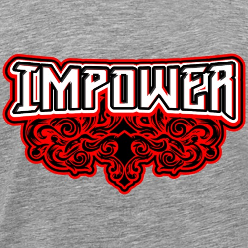 Swirl Impower Design - Men's Premium T-Shirt