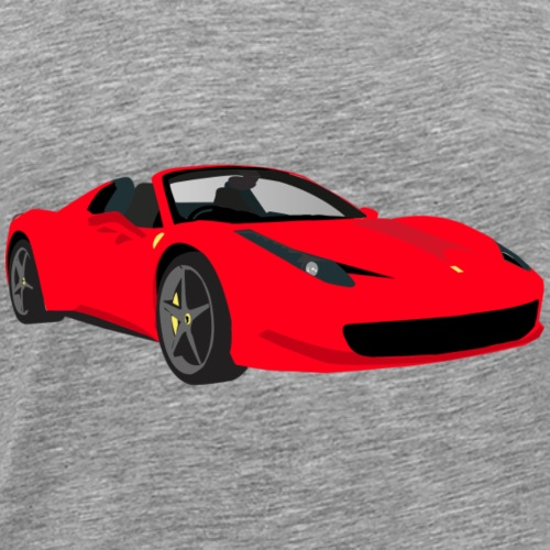 Race car - Men's Premium T-Shirt