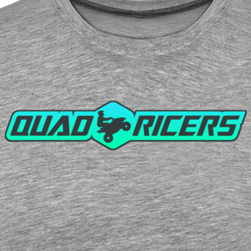 Quad Ricers Seafoam T-Shirt - Men's Premium T-Shirt
