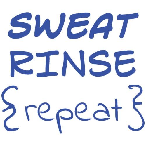 Sweat Rinse Repeat - Men's Premium T-Shirt