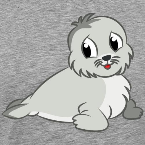 Cute Seal - Men's Premium T-Shirt