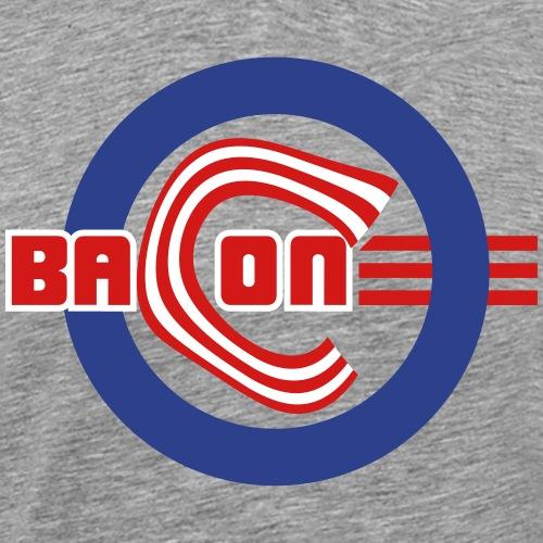 Bacon Baseball 3C - Men's Premium T-Shirt