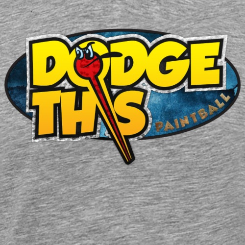 Dodge This Paintball Logo - Men's Premium T-Shirt