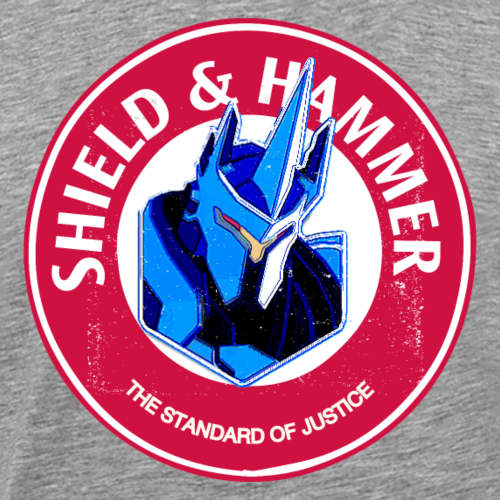 SHIELD AND HAMM3ER - Men's Premium T-Shirt