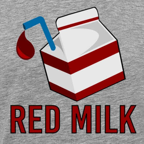Red Milk - Men's Premium T-Shirt