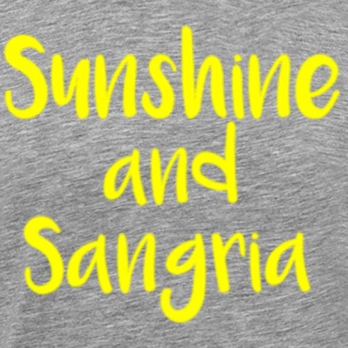 Sunshine and Sangria - Men's Premium T-Shirt