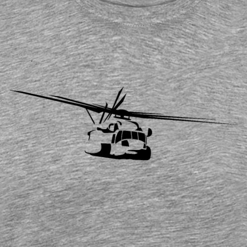 H-53 Sea Stallion Helicopter - Men's Premium T-Shirt