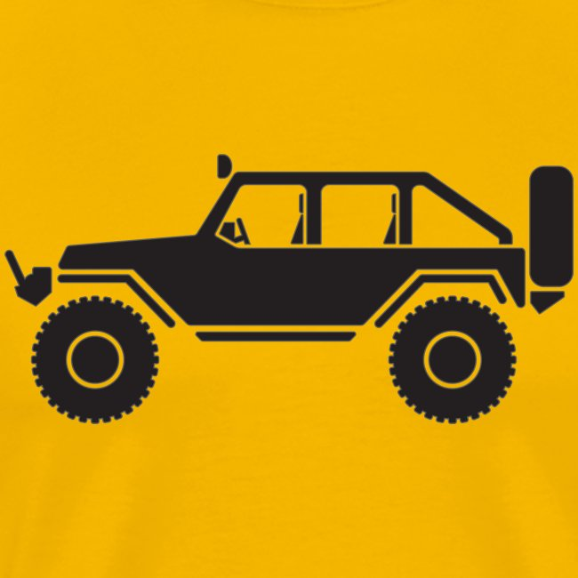 Off Road 4x4 Silhouette