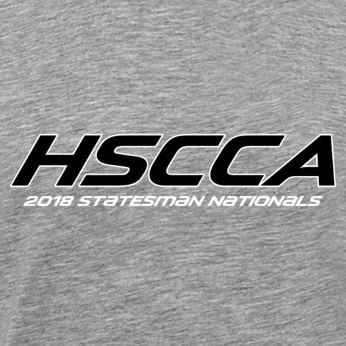 2018 HSCCA Statesman Nationals - Men's Premium T-Shirt