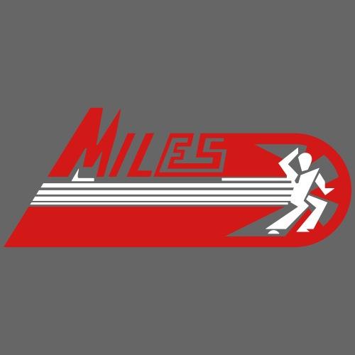Retro MILES Logo - Men's Premium T-Shirt