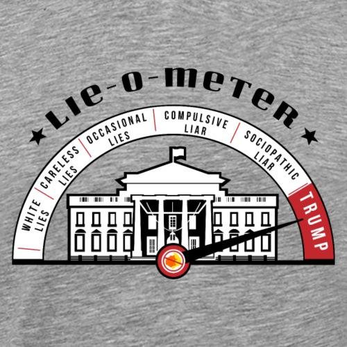 Lie O Meter Trump - Men's Premium T-Shirt