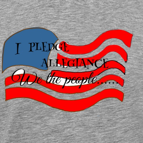 We the people - Men's Premium T-Shirt