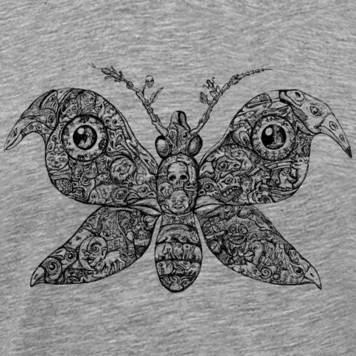 Butterfly - The Art of Michael Kriftner - Men's Premium T-Shirt