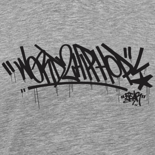 Word2HipHop - Men's Premium T-Shirt