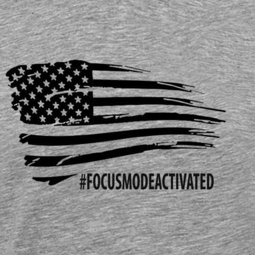#FOCUSMODEACTIVATED - Men's Premium T-Shirt
